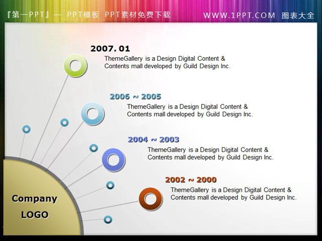 公司发展历程 发展历程ppt插图素材